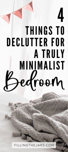 Next-level minimalist bedroom declutter: getting rid of these 4 things will create a comfortable and functional space that makes your entire life easier. The last thing on the list will blow your mind… are you ready? #decluttertips #minimalism #simplify Minimalist Bedroom, Minimalist Home, Cluttered Bedroom, Joshua Becker, Easy S, Clutter Free Home, Clothes Basket, Making Life Easier, Denial