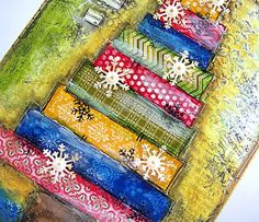 Inspired by...: PB Video Tutorial - Mixed Media Canvas