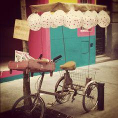 Don Flamenco! Tricycle, Flamingo