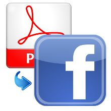 We are posting your PDF on Facebook