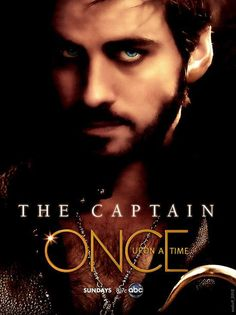 wish I had this poster <3 captain hook once upon a time poster 'the captain' :3