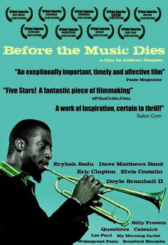 BEFORE THE MUSIC DIES is a 2006 documentary film that criticizes the American music industry and the increasing commercialization of the art of music over the past thirty years.