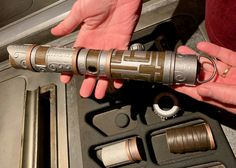 Make Custom Lightsaber at Savi's Workshop at Star Wars: Galaxy's Edge - Thrifty and Thriving Custom Lightsaber, Build Your Own Lightsaber, Lightsaber Hilt, Get Away Today, Disneyland Tickets, Star Wars Light Saber, Space Mountain, Opening Weekend, Big Star