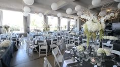 Wedding Venue: The Veranda at the Whitcomb, St. Joseph MI. (Video Snapshot by Coastline Studios, Grand Rapids MI) (Flowers & Linens by Modern Day Floral, Grand Rapids MI) (Photo by JLB Photography, Detroit MI) (Coordination by Stella Event Design, St. Joe MI)