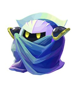 Meta Knight (artist?) #Kirby #Nintendo #fanart
