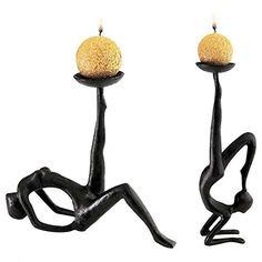 Design Toscano Les Acrobates Sculptural Candleholders Set of 2 *** Check this awesome product by going to the link at the image.Note:It is affiliate link to Amazon.