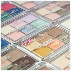 our brandnew #essence all about #eyeshadows are in store now! which one is your favorite?