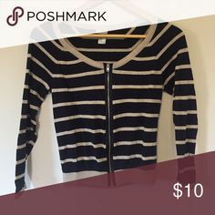 Navy blue sweater Petite sweater H&M Sweaters Cardigans