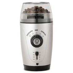 Best price for Hamilton Beach one touch coffee bean grinder . Hands free operation with five different automatic coffee flavor settings. Grinder chamber makes up to 12 -cups of coffee beans at a time. Best Coffee Grinder, Best Coffee Maker, Coffee Grinders, Spice Grinder, Best Espresso, Espresso Coffee, Coffee Coffee, Coffee Bar Home, Coffee Shop