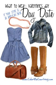 """""""All American Girl"""" valentines day date outfit"""