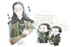 Loki by Yamygugu on deviantART Loki does inspire deep feeling.
