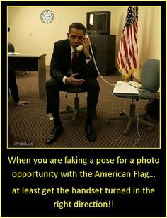 Image result for obama fakes photos