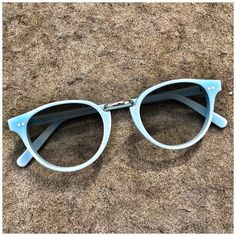 #Style n. 595 Sun in BABY LIGHT BLUE. Handcrafted in italy from a combination of custom acetate and metal (Occhiali da sole in acetato, fatti a mano in Italia).  48 eyesize - 24 bridge - 135 temple