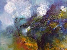 Jarni vitr - vento di primavera. Olio su masonite, dettaglio