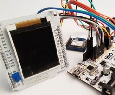 Arduino GPS Map Navigation System