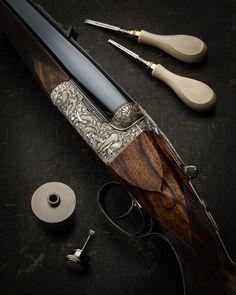 A true elephant gun in the .577 by Westley Richards