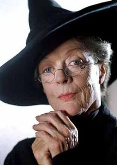 Happy Birthday Madam Professor Minerva McGonagall!!!Oct. 4th  She is a witch and a registered Animagus.  After her education, she worked for two years at the Ministry of Magic and later returned to Hogwarts, where she became Head of Gryffindor House, Transfiguration professor and concurrently, at differing times, Deputy Headmistress and Headmistress of Hogwarts.