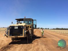 Nice finish with PolyCom Stabilising Aid, for unsealed road construction and maintenance