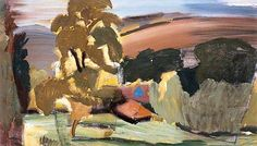 Downland Farm near Heyshott, West Sussex by Ivon Hitchens