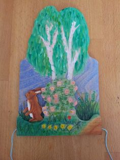 Movable wooden wallplate