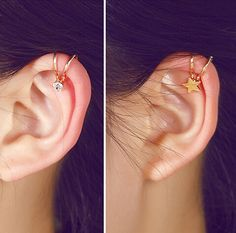 Cheap earring genie, Buy Quality earring skull directly from China earrings non pierced ears Suppliers:     LZ  2016 New Fashion Sapphire-Jewelry Cute Red Cherry Gold Plated Earrings for Women E74USD 0.59/pairLZ  2016