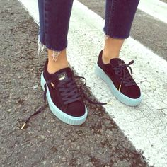 brand new a39a5 2c555 Rihanna Puma Creepers    perfection in a shoe.