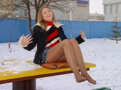 Beautiful Hottie in the Cold 8 by drknyght6 on deviantART