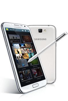 Samsung Galaxy Note 2: best I ever had and I have had a lot.