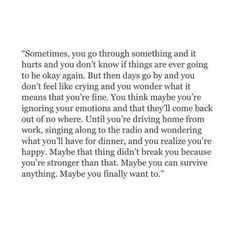 Now Quotes, Sad Love Quotes, True Quotes, Words Quotes, Quotes To Live By, Sayings, Qoutes, Finally Happy Quotes, Long Sad Quotes