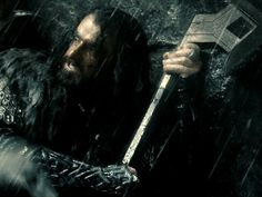 Richard Armitage as Thorin Oakenshield in The Hobbit Trilogy The Hobbit: An Unexpected Journey Thorin Oakenshield, Wet And Wild, An Unexpected Journey, Richard Armitage, Middle Earth, My King, Lord Of The Rings, Tolkien, Lotr