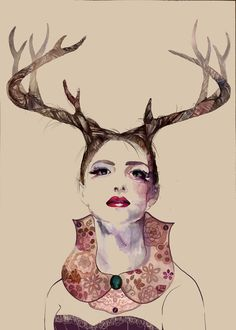 Jacqueline Diane is a Canadian Illustrator, who is a passionate fighter for Animal rights. She has a passion for creative arts in numerous mediums. Art Store, Creative Art, Deer, Moose Art, Artist, Animals, Illustrations, Inspiration, Beautiful
