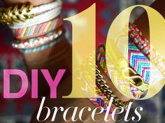 10 DIY bracelets to make yourself