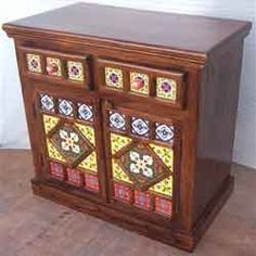Exporter of Storage Cabinet - Wooden Ceramic Tile Cabinet, Industrial Trolley Cabinet, Wooden Rack Cabinet offered by Sunrise International, Jodhpur, Rajasthan. Wooden Rack, Wooden Cabinets, Wooden Furniture, Liquor Cabinet, Tiles, Arts And Crafts, Jodhpur, Ceramics, Storage