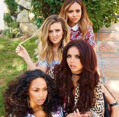 New pic of Little Mix GET WEIRD!