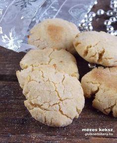 mézes gluténmentes keksz recept Muffin, Paleo, Cookies, Breakfast, Desserts, Food, Crack Crackers, Morning Coffee, Tailgate Desserts