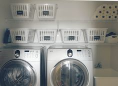 our house: the laundry room/mud room - http://www.jannybean.ca/2015/04/our-house-the-laundry-roommud-room/