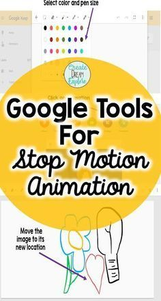 Using Google Suite Tools for Stop Motion Animation. Google Keep and Google photos app smash to great cool little stop motion videos. #3rdgrade #4thgrade #classroomtechnology - Create Dream Explore