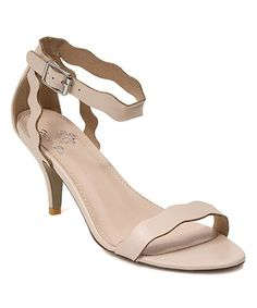 Love this Nude Rubie Sandal on #zulily! #zulilyfinds