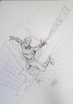 Spiderman pen