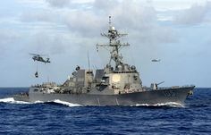 "US warship approached the Spratly Islands in the South China Sea, which is claimed by China. This is the first instance since US President Donald Trump demonstrated that it does not recognize Beijing's claim to exclusive rights to the territory. The missile destroyer ""Dewey"" was 12 nautical miles from the Spratly archipelago, whose territory is …"