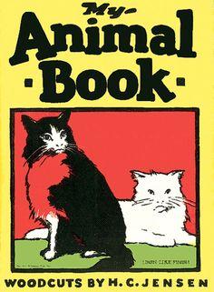 My Animal Book, illustrations by H.C. Jensen, ca. 1925