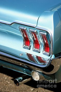 The Ford Mustang was one of the first cool cars of the 1960s.