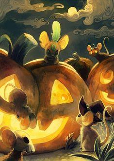Transformice Halloween Art