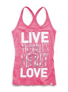 Burnout Racerback Tank - Supermodel Essentials - Victoria's Secret