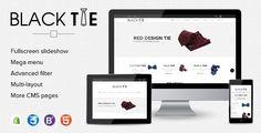 eCommerce Shopify Theme Men's Fashion Ties