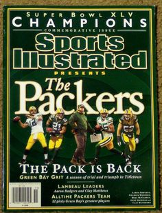 Super Bowl XLV Champions commemorative edition - The Packers - The Pack is Back