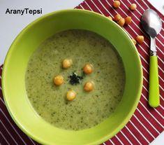AranyTepsi: Egyszerű brokkoli krémleves Cheeseburger Chowder, Cantaloupe, Oatmeal, Soup, Dishes, Fruit, Breakfast, Drink, The Oatmeal