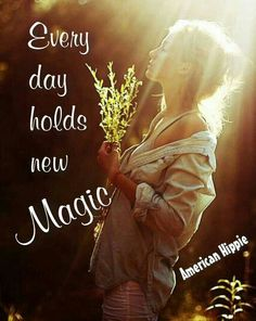 ☮ American Hippie ☮ It's a new day .. make it magic!