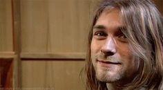 Kurt Cobain What a beautiful soul <3