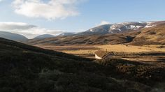 Moxon Architects builds humble cabin in mountainous Scottish landscape